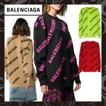 BALENCIAGA Long Sleeves Sweaters