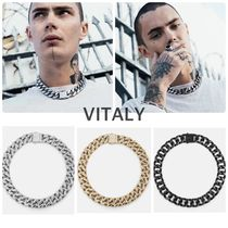 Vitaly Unisex Street Style Chain Plain Necklaces & Chokers