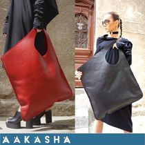 Aakasha Plain Leather Handmade Elegant Style Handbags
