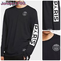 Nike Crew Neck Collaboration Long Sleeves Cotton