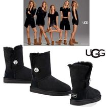 UGG Australia CLASSIC Casual Style Suede Mid Heel Boots