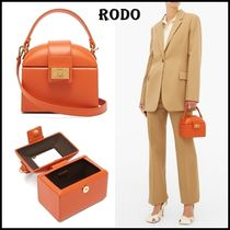 RODO Casual Style 2WAY Plain Leather Shoulder Bags