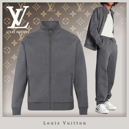 Louis Vuitton MONOGRAM Monogram Zip Through Top