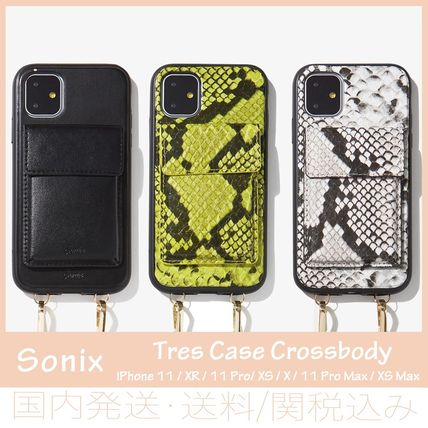 Faux Fur Chain Plain Python iPhone X iPhone XS iPhone XS Max
