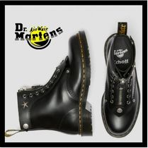 Dr Martens 1460 Unisex Collaboration Leather Elegant Style Boots Boots