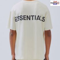 FEAR OF GOD ESSENTIALS Unisex Street Style Short Sleeves T-Shirts