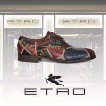 ETRO Other Check Patterns Leather Shoes