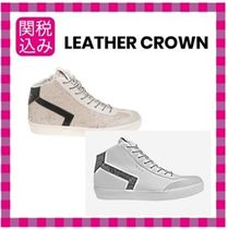 LEATHER CROWN Low-Top Sneakers
