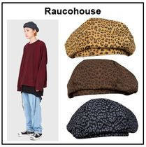 Raucohouse Unisex Street Style Beret & Hunting Hats