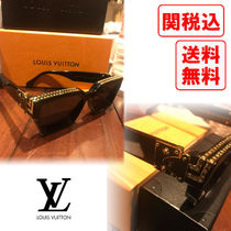 Louis Vuitton Unisex Street Style Sunglasses