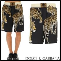 Dolce & Gabbana Leopard Patterns Cotton Underwear & Lounge
