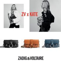 ZADIG & VOLTAIRE Casual Style 3WAY Chain Leather Shoulder Bags