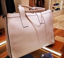 BRUNELLO CUCINELLI Blended Fabrics Leather Totes