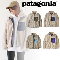 Patagonia Retro X Street Style Shearling Kids Girl Outerwear