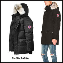 CANADA GOOSE EMORY Fur Plain Down Jackets