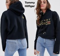 Tommy Hilfiger Short Sweat Long Sleeves Cropped