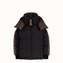 FENDI Unisex Logo Down Jackets