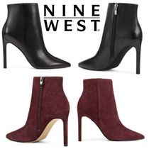 Nine West Suede Plain Leather Pin Heels Party Style