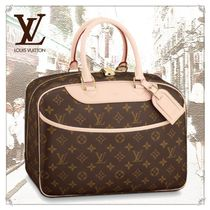 Louis Vuitton MONOGRAM Monogram Unisex Canvas Blended Fabrics Boston & Duffles