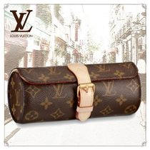 Louis Vuitton MONOGRAM Unisex Blended Fabrics Leather Accessories