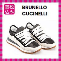 BRUNELLO CUCINELLI Casual Style Leather Low-Top Sneakers