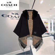 Coach Wool Ponchos & Capes