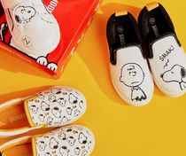 SHOOPEN Unisex Collaboration Kids Girl Shoes