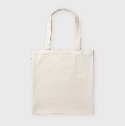 Canvas Street Style A4 Plain Logo Shoppers