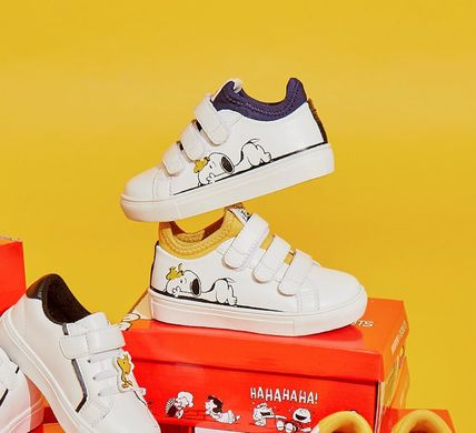 Unisex Collaboration Kids Girl Shoes