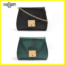 CARBOTTI 2WAY Leather Shoulder Bags