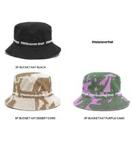 thisisneverthat Unisex Street Style Oversized Bucket Hats Wide-brimmed Hats