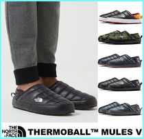 THE NORTH FACE Camouflage Street Style Bi-color Plain Loafers & Slip-ons