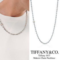 Tiffany & Co TIFFANY 1837 Unisex Chain 18K Gold Necklaces & Chokers