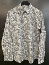 Paul Smith Flower Patterns Casual Style Long Sleeves Shirts & Blouses