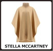 Stella McCartney Wool Plain Medium Ponchos & Capes
