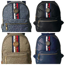 Tommy Hilfiger Casual Style Street Style Backpacks