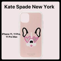 kate spade new york Unisex Plain Other Animal Patterns Smart Phone Cases