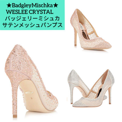 Pin Heels Party Style With Jewels Elegant Style Logo