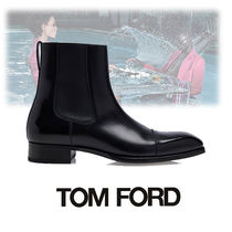 TOM FORD Street Style Plain Leather Boots