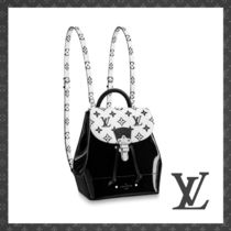 Louis Vuitton Monogram Casual Style 2WAY Leather Elegant Style Backpacks