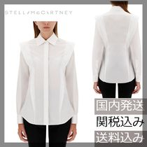 Stella McCartney Casual Style Long Sleeves Plain Cotton Elegant Style