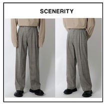 Slax Pants Glen Patterns Slacks Pants