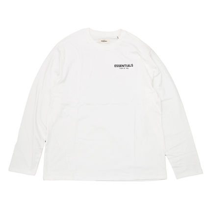 FEAR OF GOD Long Sleeve Crew Neck Street Style Long Sleeves Cotton Oversized 6