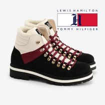 Tommy Hilfiger Mountain Boots Suede Blended Fabrics Outdoor Boots