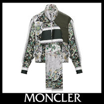 MONCLER Flower Patterns Casual Style Silk Blended Fabrics