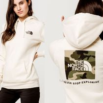 THE NORTH FACE Street Style Long Sleeves Logo Hoodies & Sweatshirts