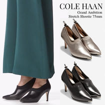 Cole Haan Plain Leather High Heel Pumps & Mules