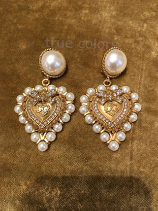 Costume Jewelry With Jewels Elegant Style Earrings