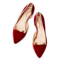Charlotte Olympia Casual Style Leather Party Style With Jewels Office Style