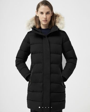 Plain Long Down Jackets